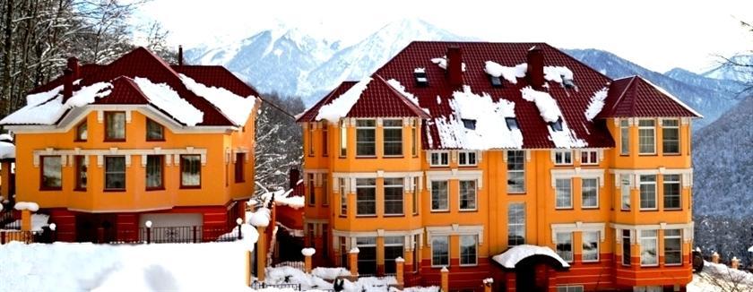 отель горный хрусталь красная поляна фото простом