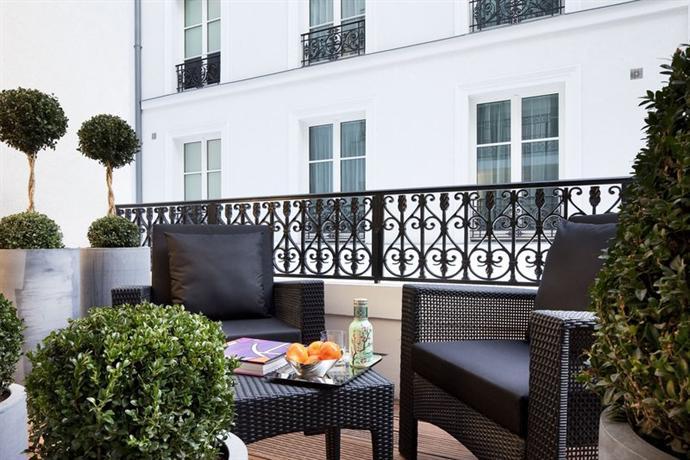 Les jardins de la villa hotels paris for Les jardins de la villa 5 rue belidor 75017 paris