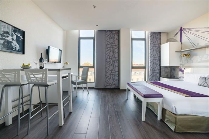 Aparth tel lagrange city lyon lumi re hotels lyon for Aparthotel lyon