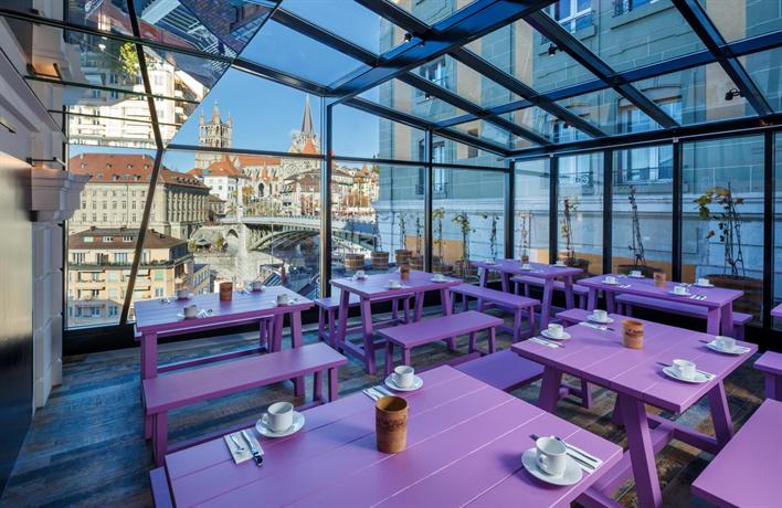 swiss wine hotel bar by fassbind hotels lausanne
