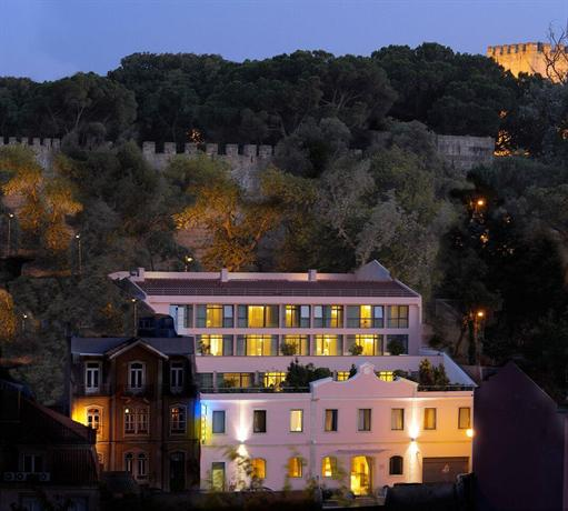 Olissippo castelo hotels lisbonne for Hotels 4 etoiles lisbonne