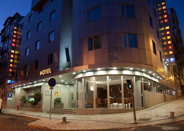 Hotel 3k madrid hotels lisbonne for Hotels 4 etoiles lisbonne