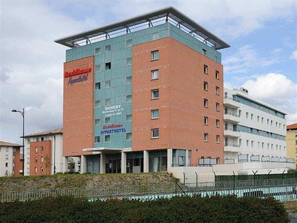 Residhome appart hotel occitania hotels toulouse for Appart hotel toulouse