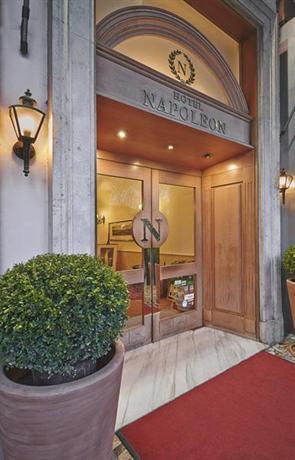 Hotel Napoleon Rome Italie