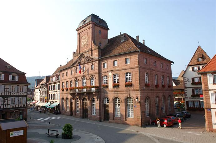 H tel restaurant de la couronne hotels wissembourg for Hotels wissembourg