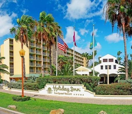 Aruba Holiday Inn Palm Beach The Best Beaches In World