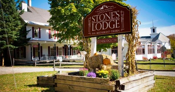 Stone's Lodge under Mt Stratton Bondville