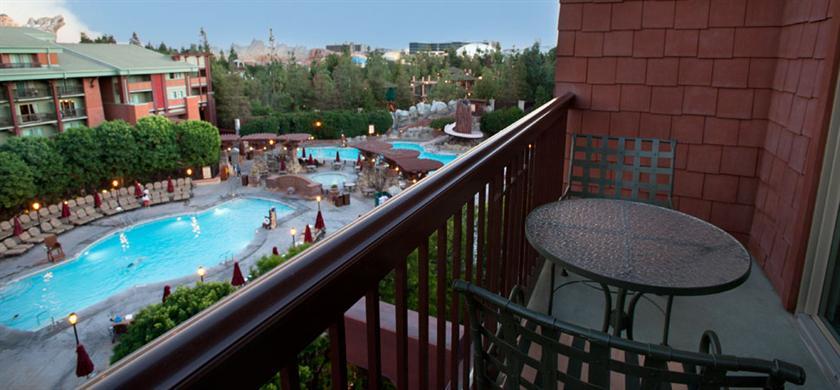 Disneyland Grand Californian Hotel Standard View Room