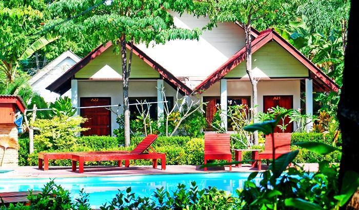 Lanta emerald bungalow koh lanta offerte in corso for Fantastici disegni di bungalow
