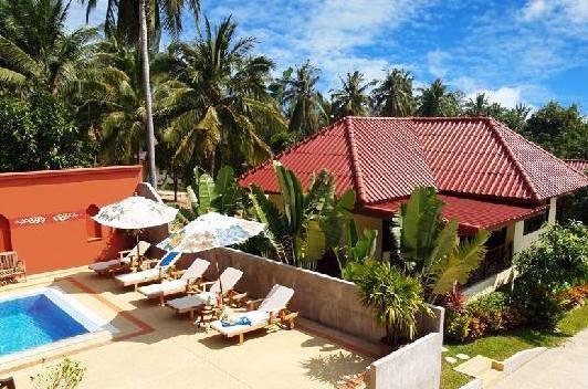 Chor chang villa resort bophut comparez les offres - Complexe mandala beach villas koh samui en thailande ...