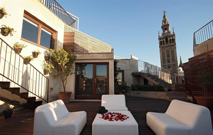 Eme catedral hotel seville compare deals - Terraza hotel eme ...