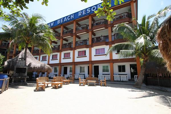Over Tamaraw Beach Resort