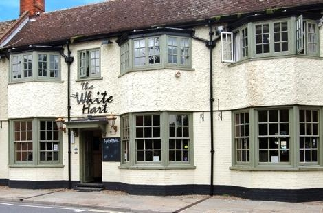 The white hart mildenhall gay