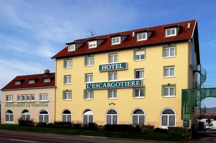 Hotel l'Escargotiere Dijon Sud - Chenove