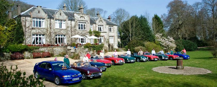 The hermitage country house hotel ventnor godshill for Hermitage house