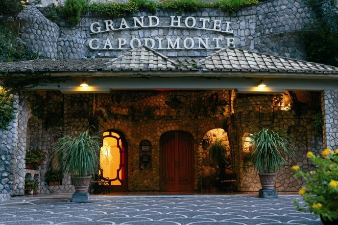 Grand Hotel Capodimonte, Sorrento Entrata principale