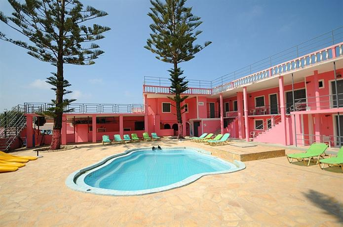 The Pink Palace Hotel Agios Gordios