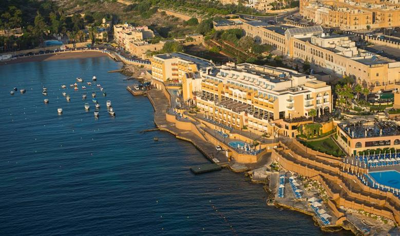 About Marina Hotel Corinthia Beach Resort Malta