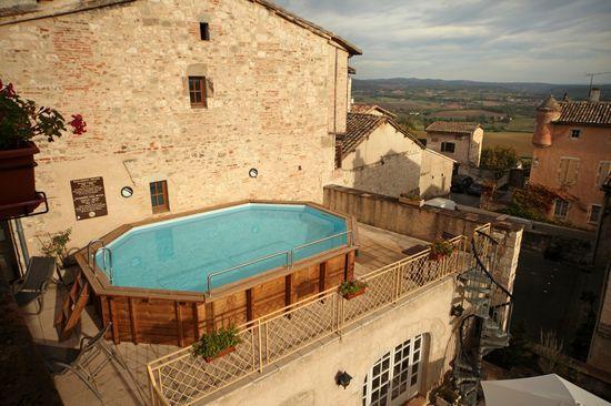 Hotel Restaurant Castelnau De Montmiral