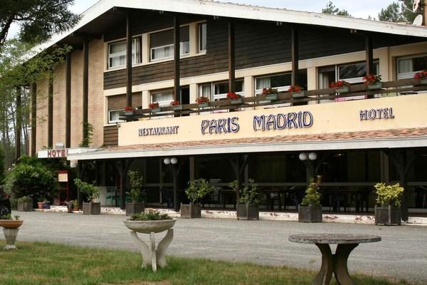 hotel paris madrid lesperon