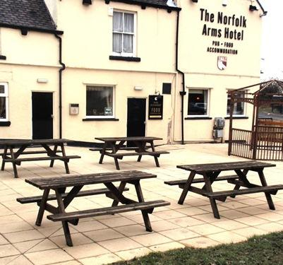 The Norfolk Arms Hotel And Restaurant Chapeltown