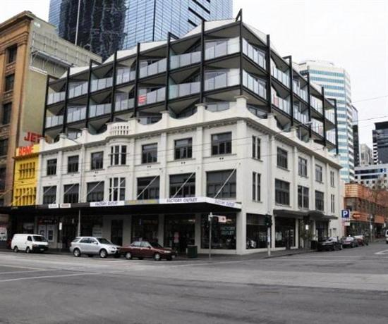 City edge on elizabeth apartment hotel melbourne for Appart hotel melbourne
