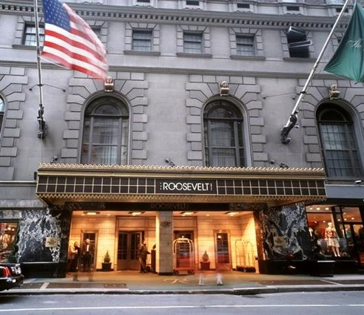 The roosevelt hotel new york city compare deals for Home holidays new york manhattan