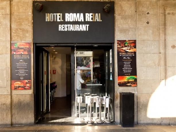 Roma reial hotel barcelona compare deals - Hotel reial barcelona ...
