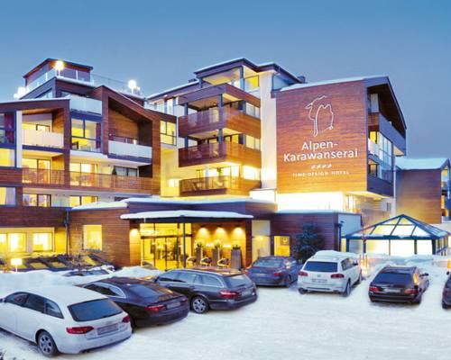 Alpen karawanserai time design hotel hinterglemm for Design hotels alpen