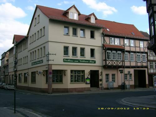 Hotel Garni Zum Goldenen Ring Quedlinburg Deutschland