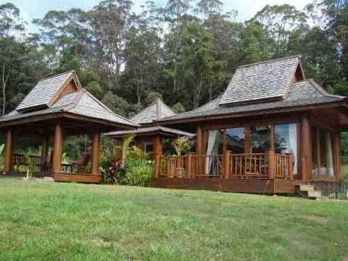 Silk Pavilions Bed & Breakfast Mt Burrell