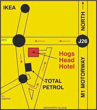 Hogs Head Hotel Awsworth