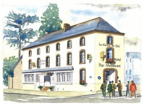 Hôtel La Gerbe De Blé Laval