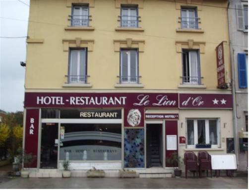 Hotel-Restaurant Le Lion d'Or Verdun