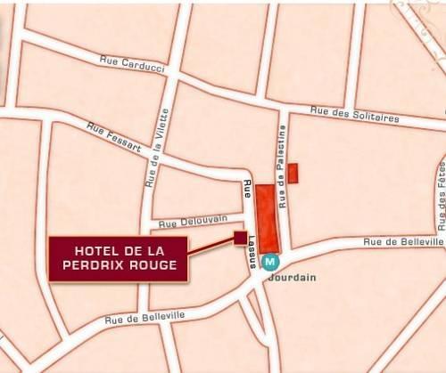 Hotel Perdrix Rouge Paris