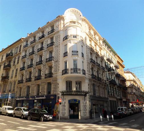 Azur campus 2 et 3 hotels nice for Prix des hotels en france
