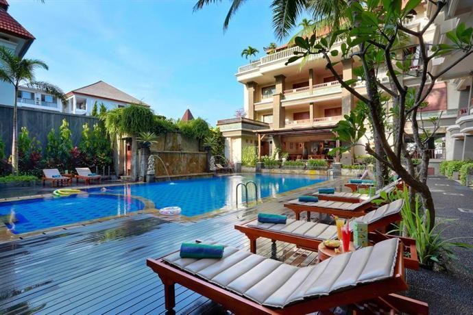 The vira bali boutique hotel suite kuta compare deals for Hip hotels bali