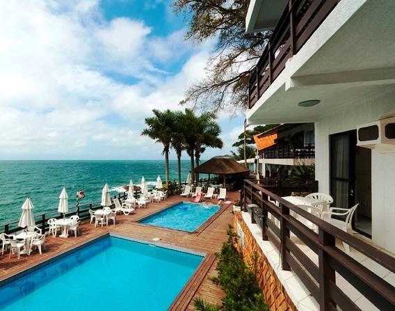 Bombinhas tourist apart hotel compare deals for Aparte hotel