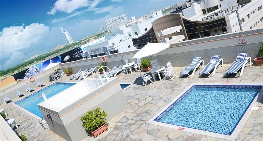 About Rose Garden Hotel Apartments Al Barsha
