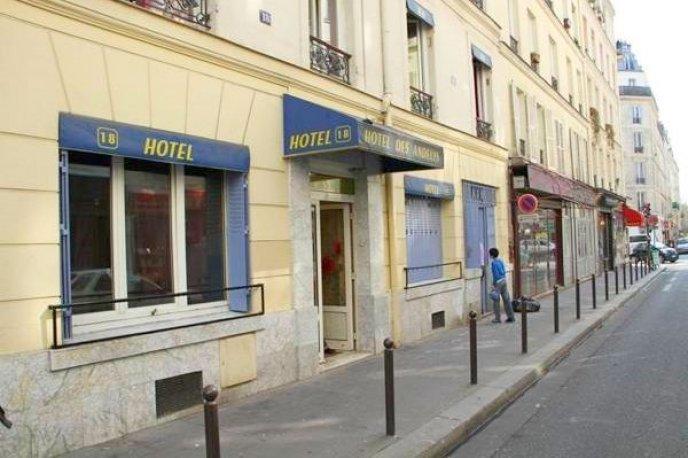 Hotel des Andelys Paris France
