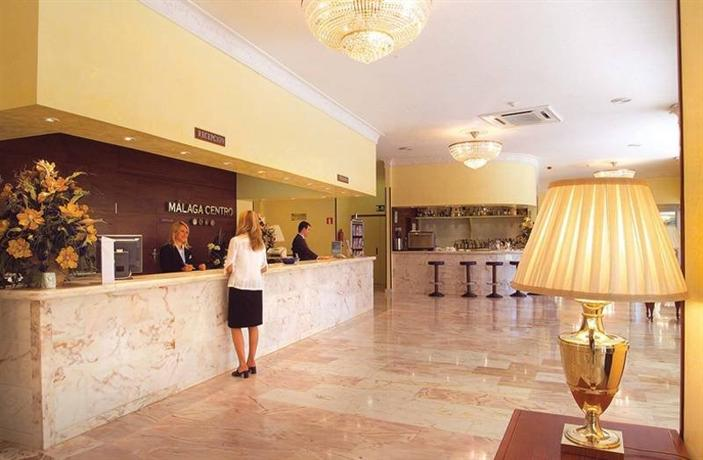 Salles Hotel Malaga Centro Отель Саллес Малага Сентро