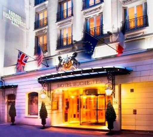 Book Hotel Rochester Champs Elysées in Paris | Hotels.com