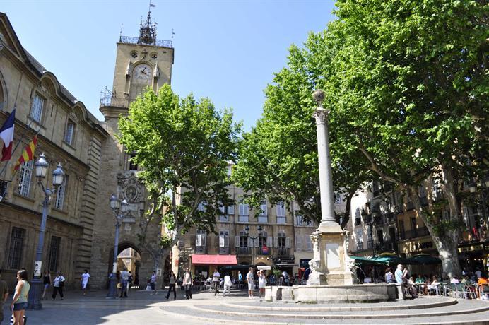 App centre aix 1 3 p vue sur jardin calme aix en provence - Restaurant avec jardin aix en provence ...