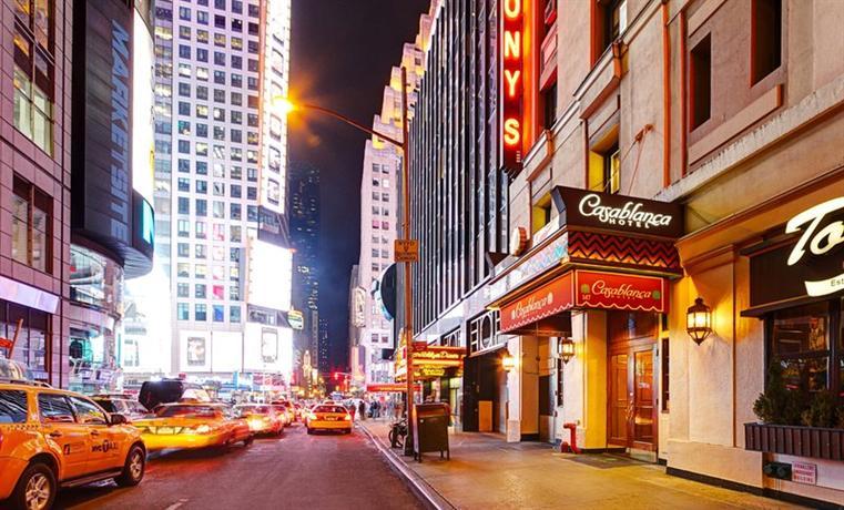 casablanca hotel times square new york city compare deals. Black Bedroom Furniture Sets. Home Design Ideas
