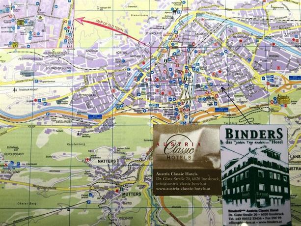 Austria Classic Hotel Innsbruck Binders Garni Compare Deals