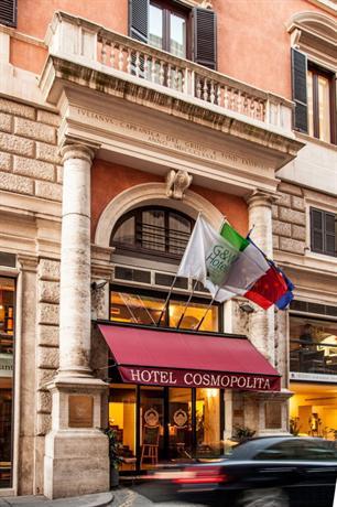 Hotel Cosmopolita Rome Italy
