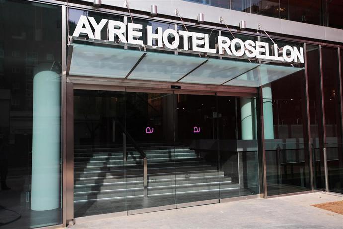 Ayre Hotel Rosellon Barcelona Compare Deals