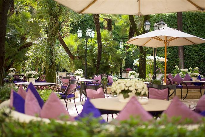 Aldrovandi Villa Borghese The Leading Hotels Of The World