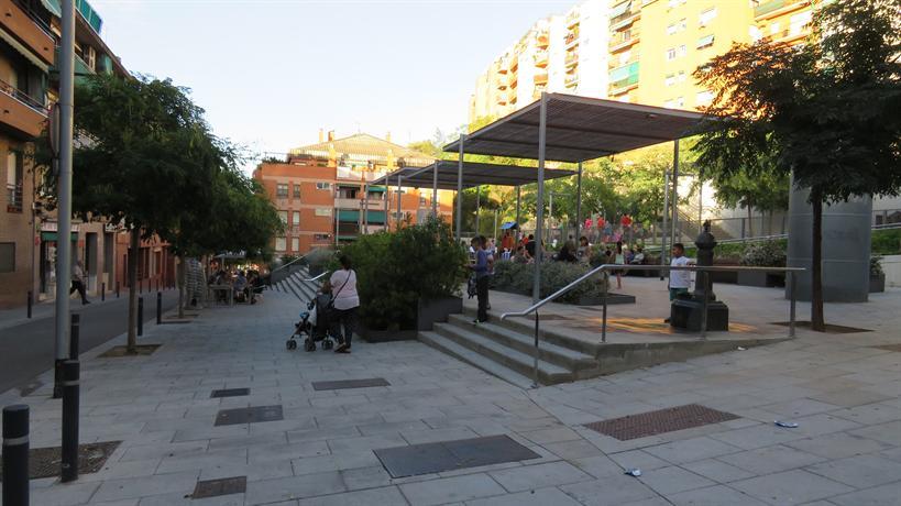 Atico terraza barbacoa park guell apartamento barcelona - Atico terraza barcelona ...