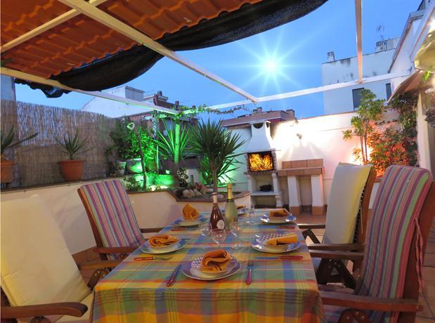 Atico con terraza barbacoa airport barcelona viladecans compare deals - Terraza con barbacoa ...